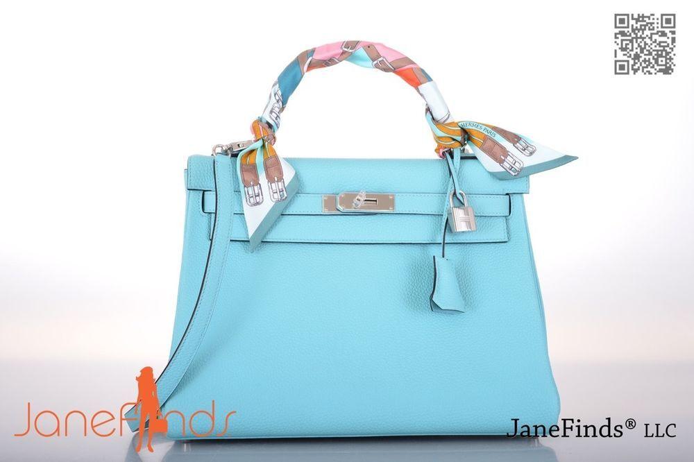 Bag Hermes Kelly Blue