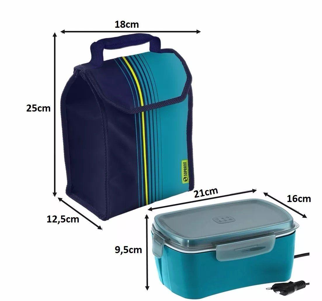 Marmita El 233 Trica 1 2 Litros Bivolt Com Cooler 4 2 L 1 Pote Refil Marmita Eletrica Potes