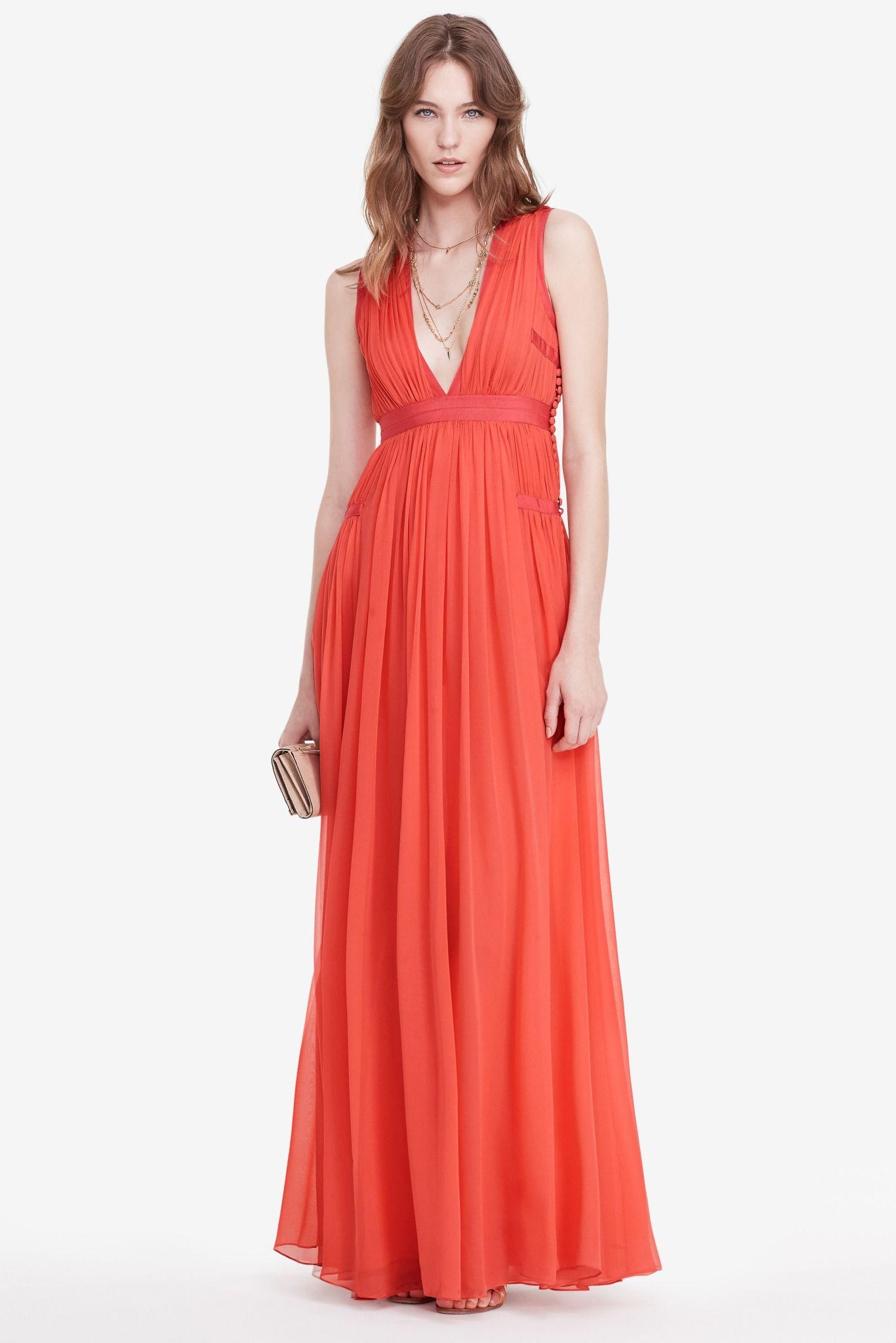 Dvf lelani pleated gown estilo pinterest gowns goddesses and
