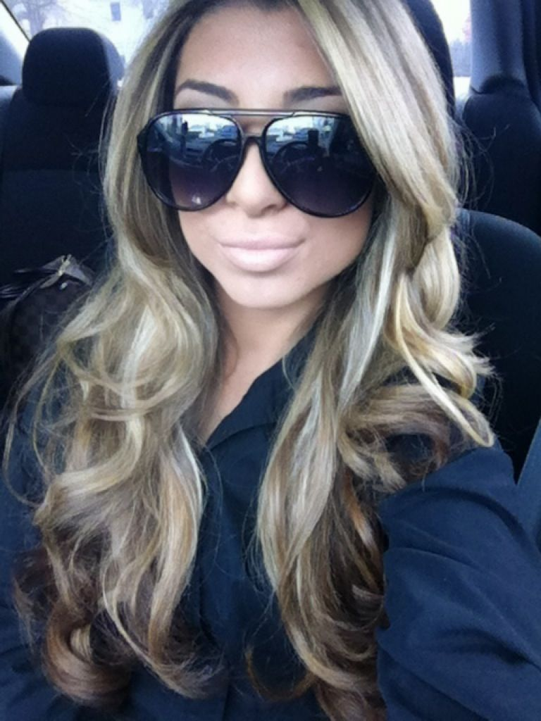 Too blonde meblonde highlights hair u nails pinterest
