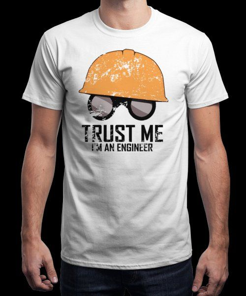 """""""TRUST ME!"""" is today's £8/€10/$12 tee for 24 hours only on www.Qwertee.com Pin this for a chance to win a FREE TEE this weekend. Follow us on pinterest.com/qwertee for a second! Thanks:)"""
