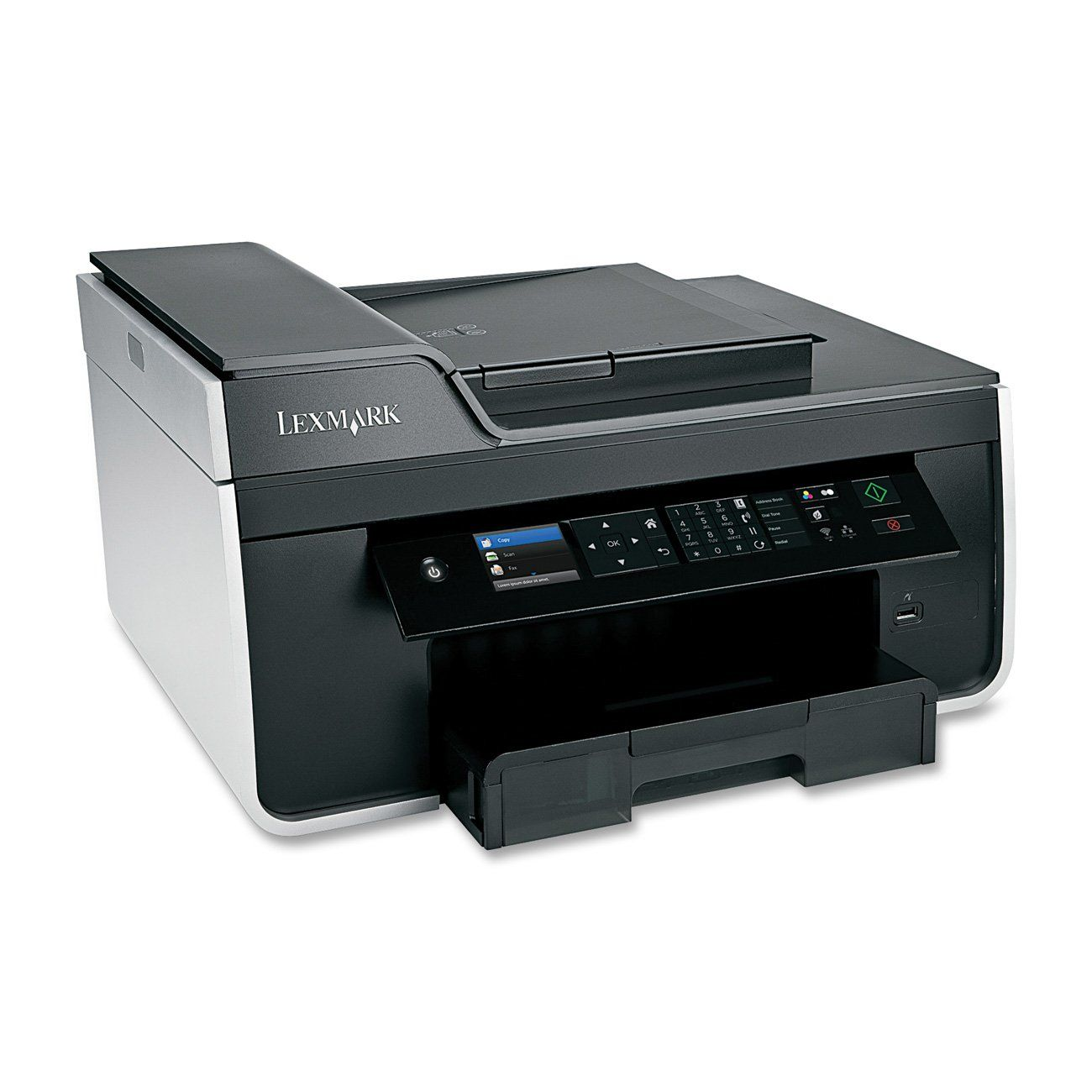 Lexmark Pro715 Wireless Inkjet All In One Printer With Scanner Copier And Fax