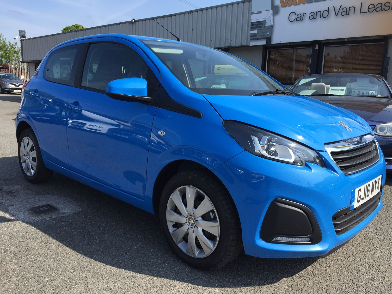 The Peugeot 108 Hatchback #carleasing deal | One of the many cars ...
