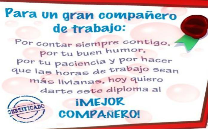 Imagenes Compañeros De Trabajo Frases De Compañeros De