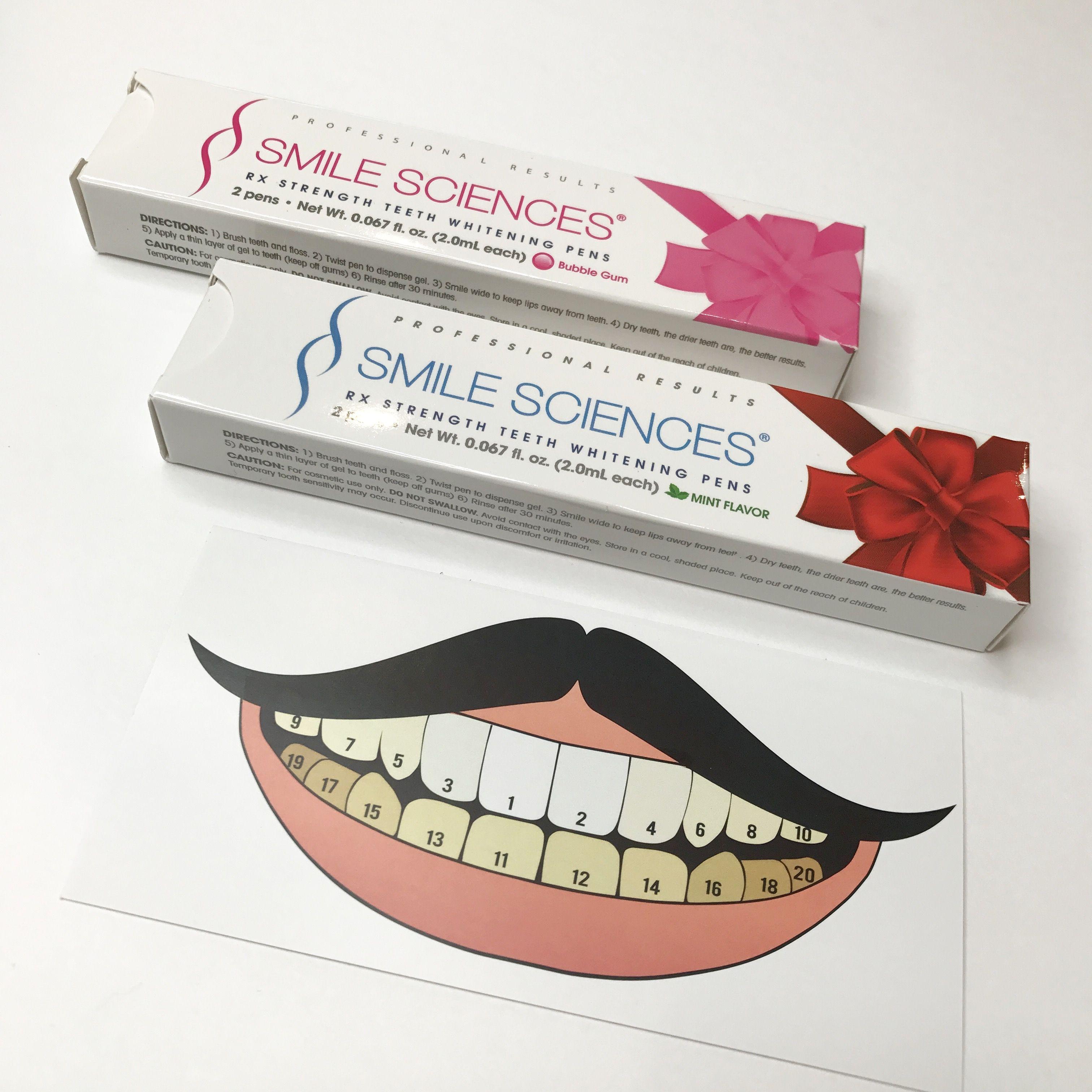 two teeth whitening pens 10 smilesciences com teeth whitening