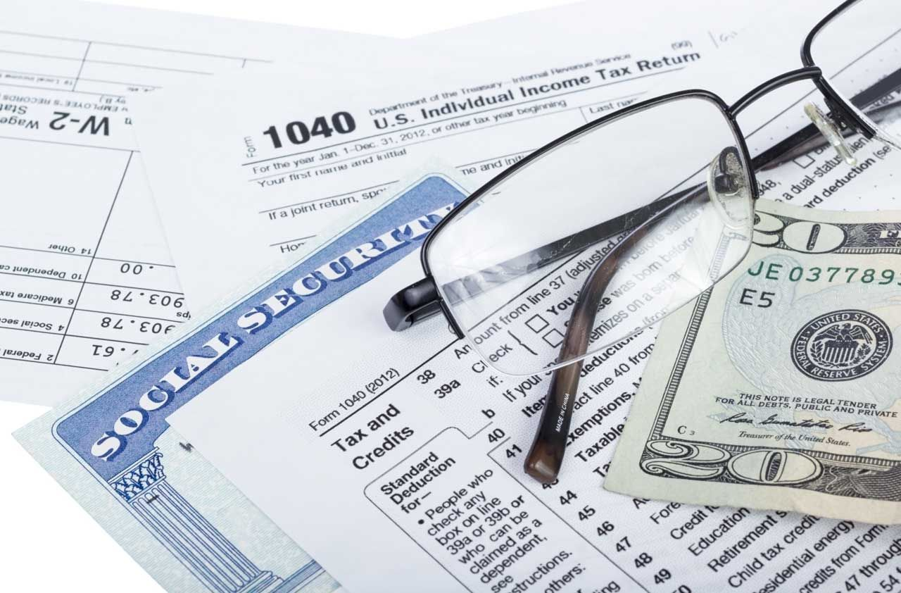 Depending on your you may owe tax on as much as 85