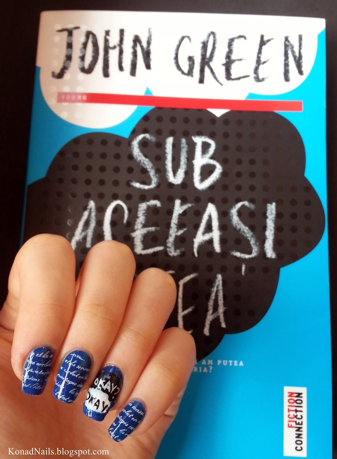The Fault In Our Stars nail art | Expensive Nails | Pinterest ...