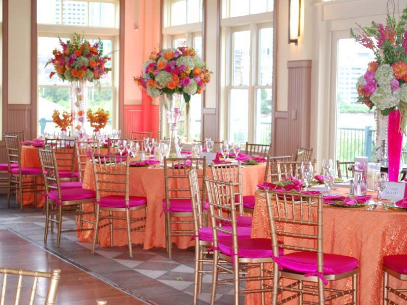 Party Linen Rental Special Event Rentals Specialty Wedding Chair Covers Cloth Connection Nationwide Spe Orange Wedding Chair Covers Wedding Wedding Chairs