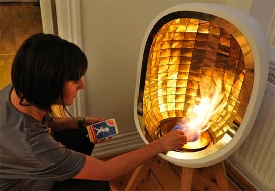 Delightful Adorable Portable Fireplace
