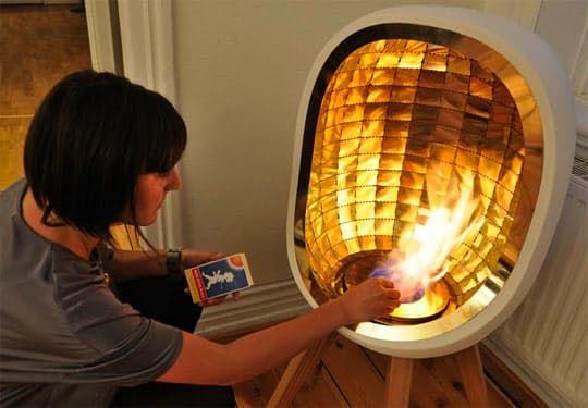 Delightful Adorable Portable Fireplace