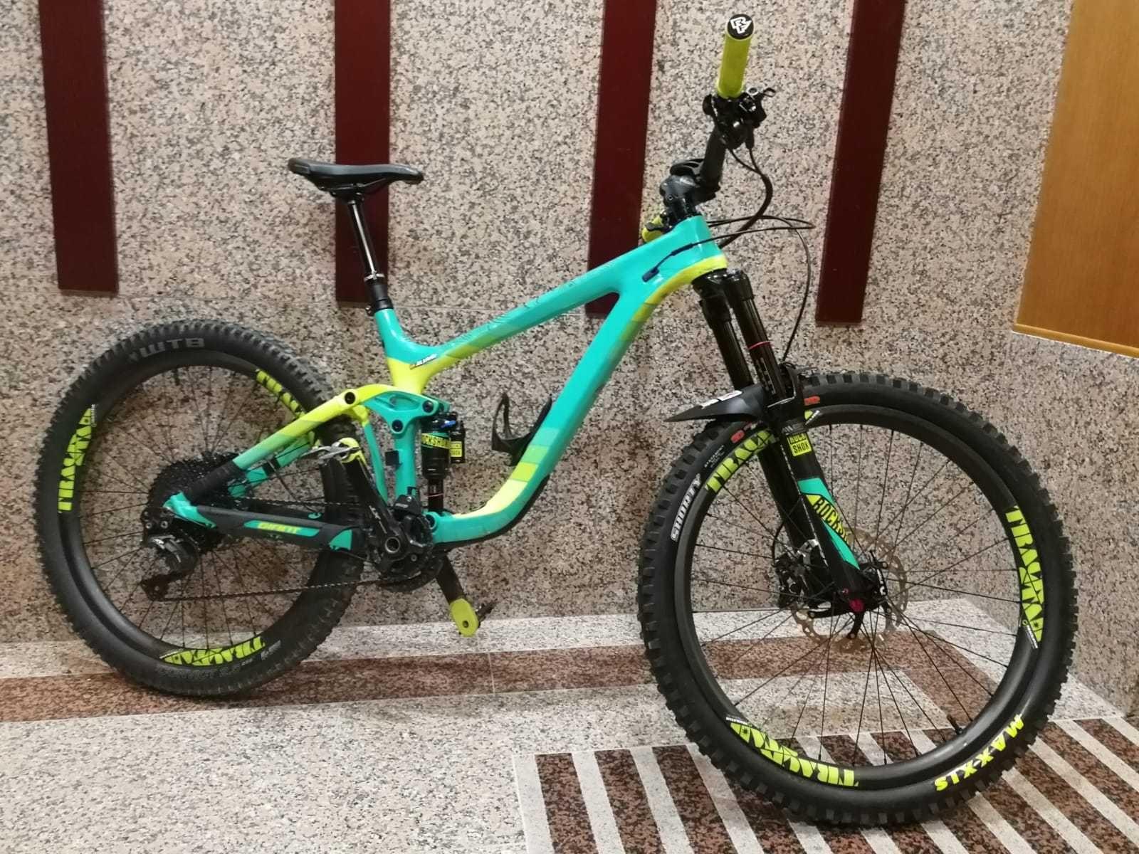 Bicicleta De Montaña Giant Reign Advanced 1 Ref 40359 Talla M Año 2016 Cambio Shimano Deore Xt Bicicletas Accesorios Para Bicicletas Bicicletas Deportivas