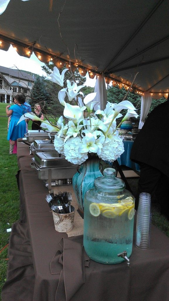 Rustic Wedding in Hobble Creek | Beautiful wedding reception, Rustic wedding, Wedding venues utah