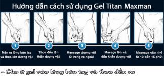 cach su dung titan gel nga