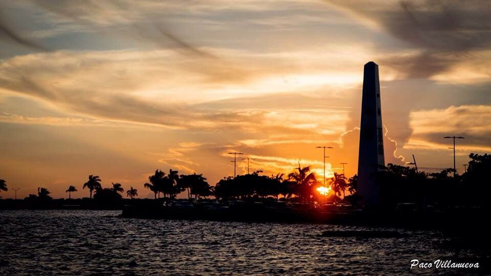 Atardecer De Chetumal Desde La Calle Pinterest Quintana Roo And Sunset