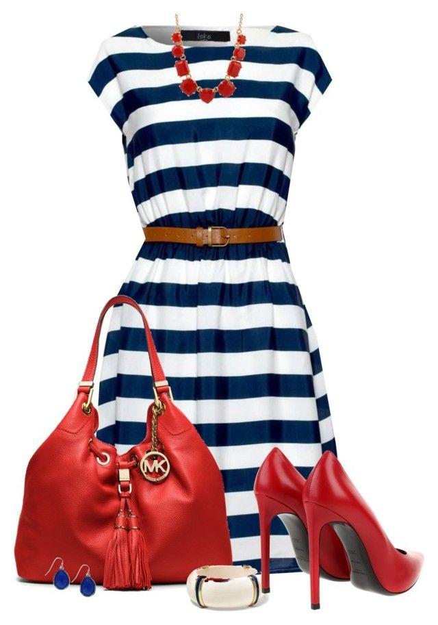 Nautical Stripes Dress