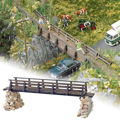 Busch 10220 - Wooden Bridge