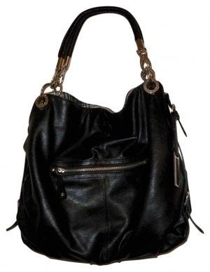 London Fog Black Purse Hobo Bag $31