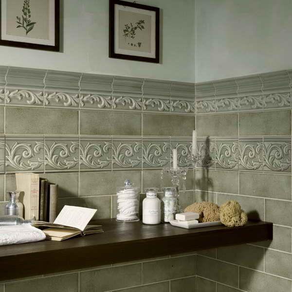 tile samples with wax decorative bathrooms Bathrooms Pinterest