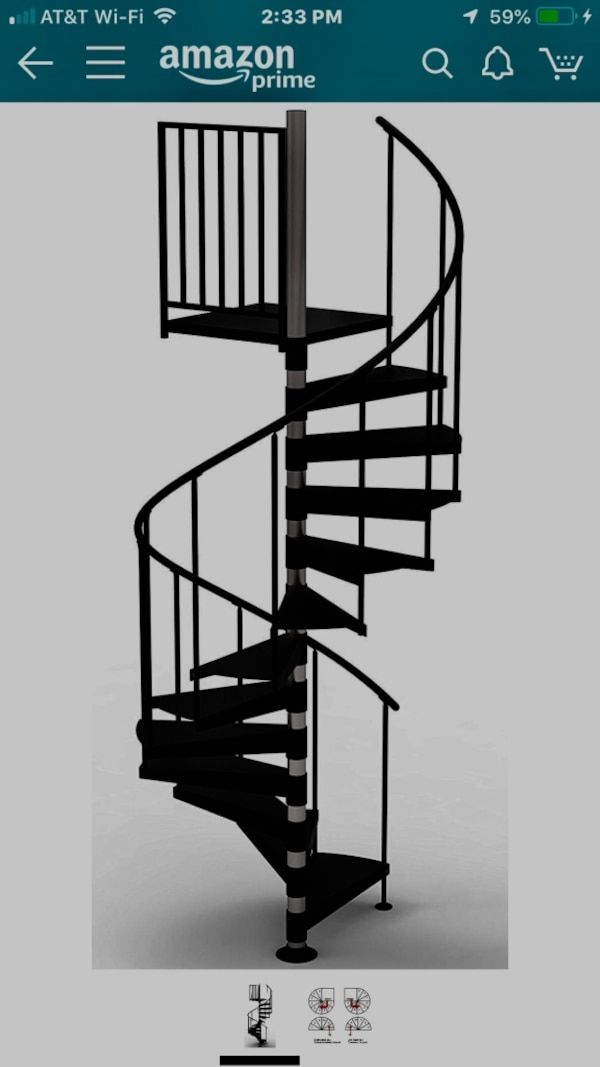 Best Used Spiral Staircase Listed Under Home And Other For Sale In Fredericksburg Spiral Staircase 400 x 300