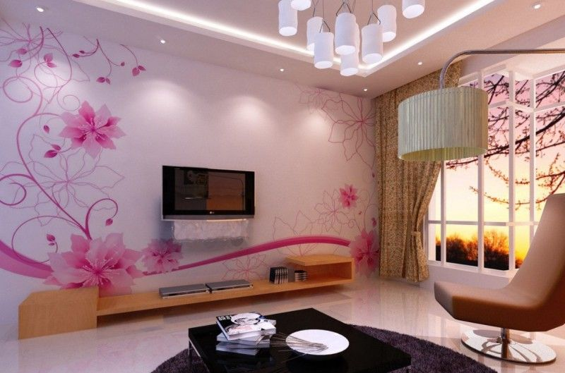 Perfect 16 Modern TV Wall Decorations That Will Fascinate You   Top Dreamer