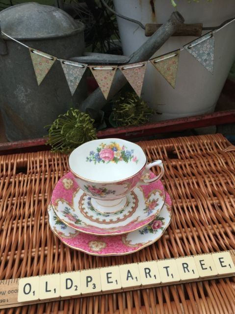 SOLD - Royal Albert Lady Carlyle Trio