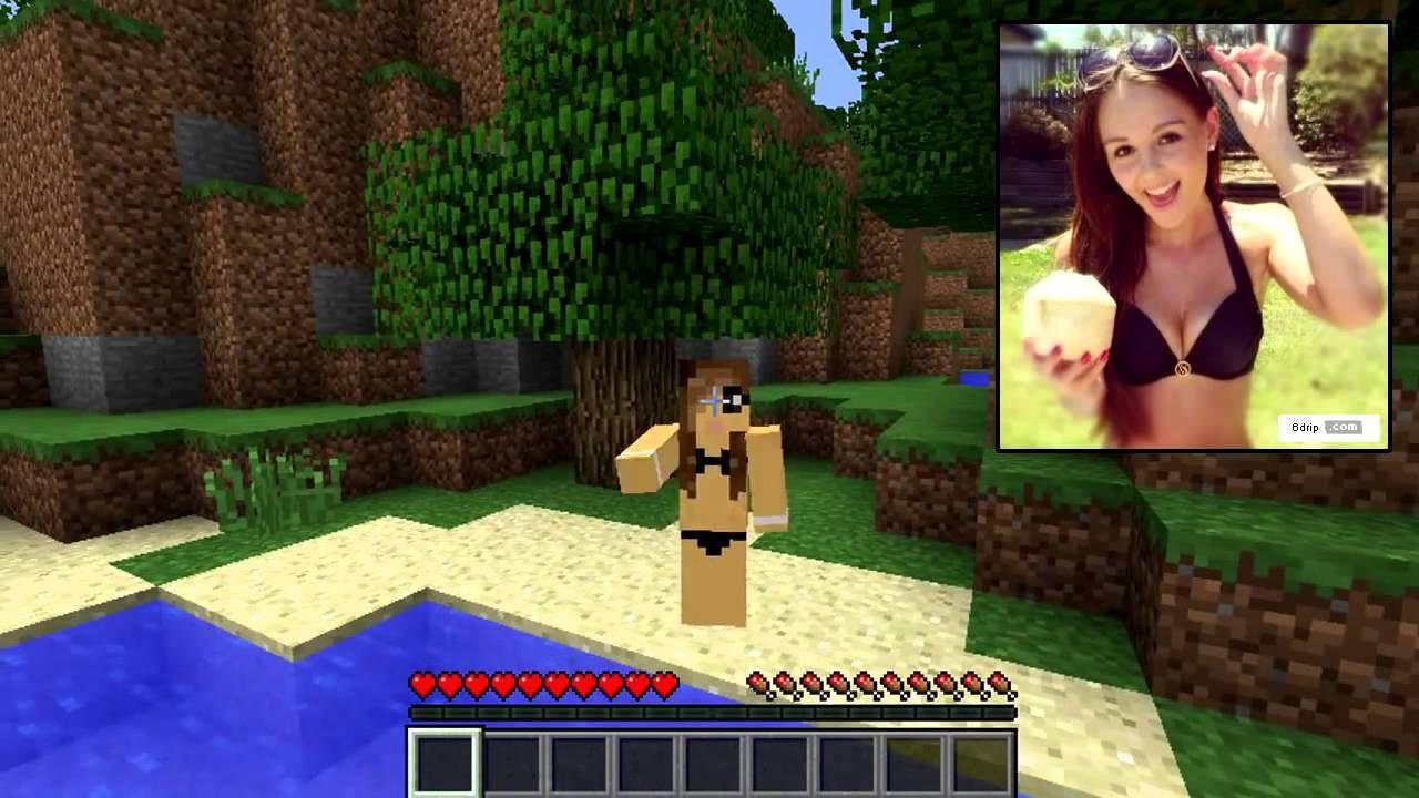 Minecraft SkinsBikini Greatness Best Skin4Building Girl f67gvIyYb