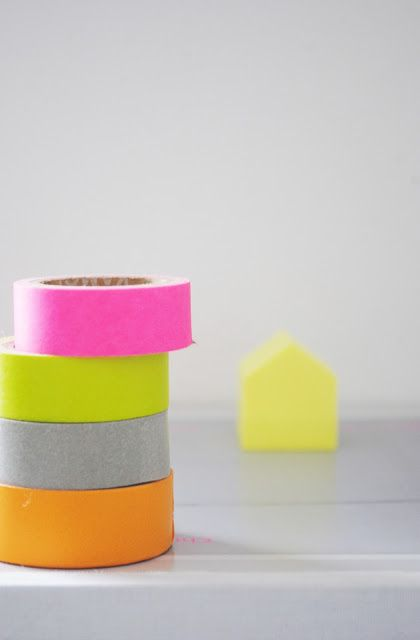 Moa Og Kaffekoppen Cintas Pasteles Neon Neon