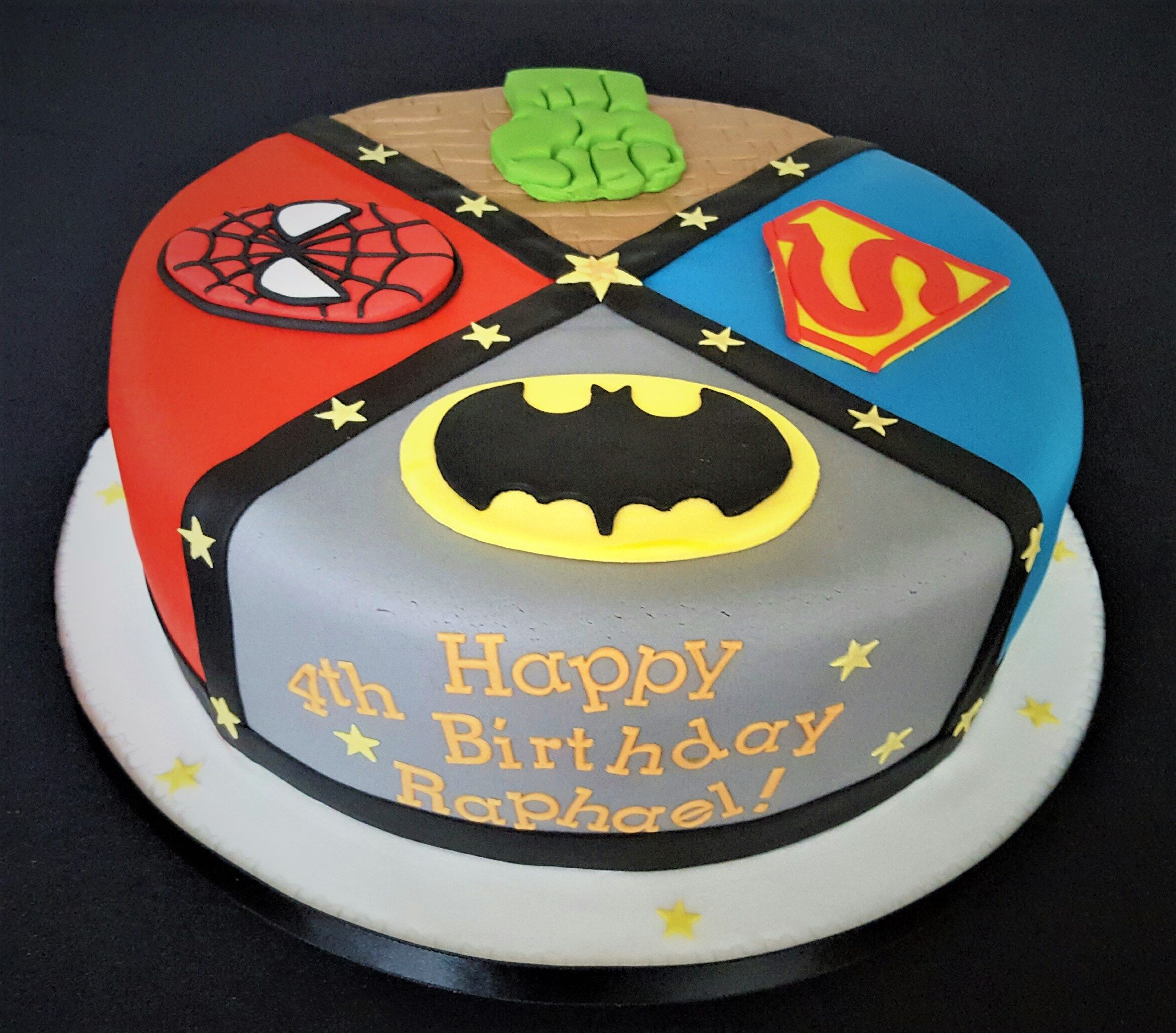 Fabulous 30 Brilliant Picture Of Marvel Birthday Cakes With Images Personalised Birthday Cards Cominlily Jamesorg