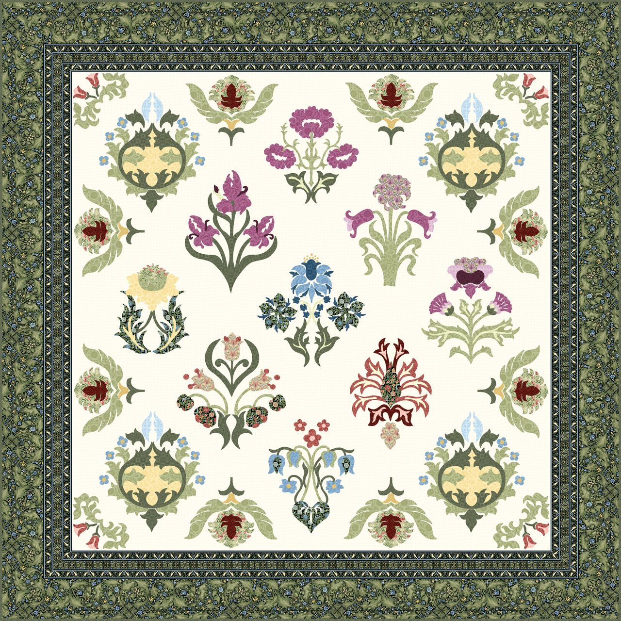 Quilt Gallery and Patterns - Williams Morris | Quilting | Textiles