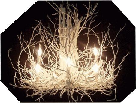 Twig Chandelier Tutorial Creative Lighting Diy Home Decor