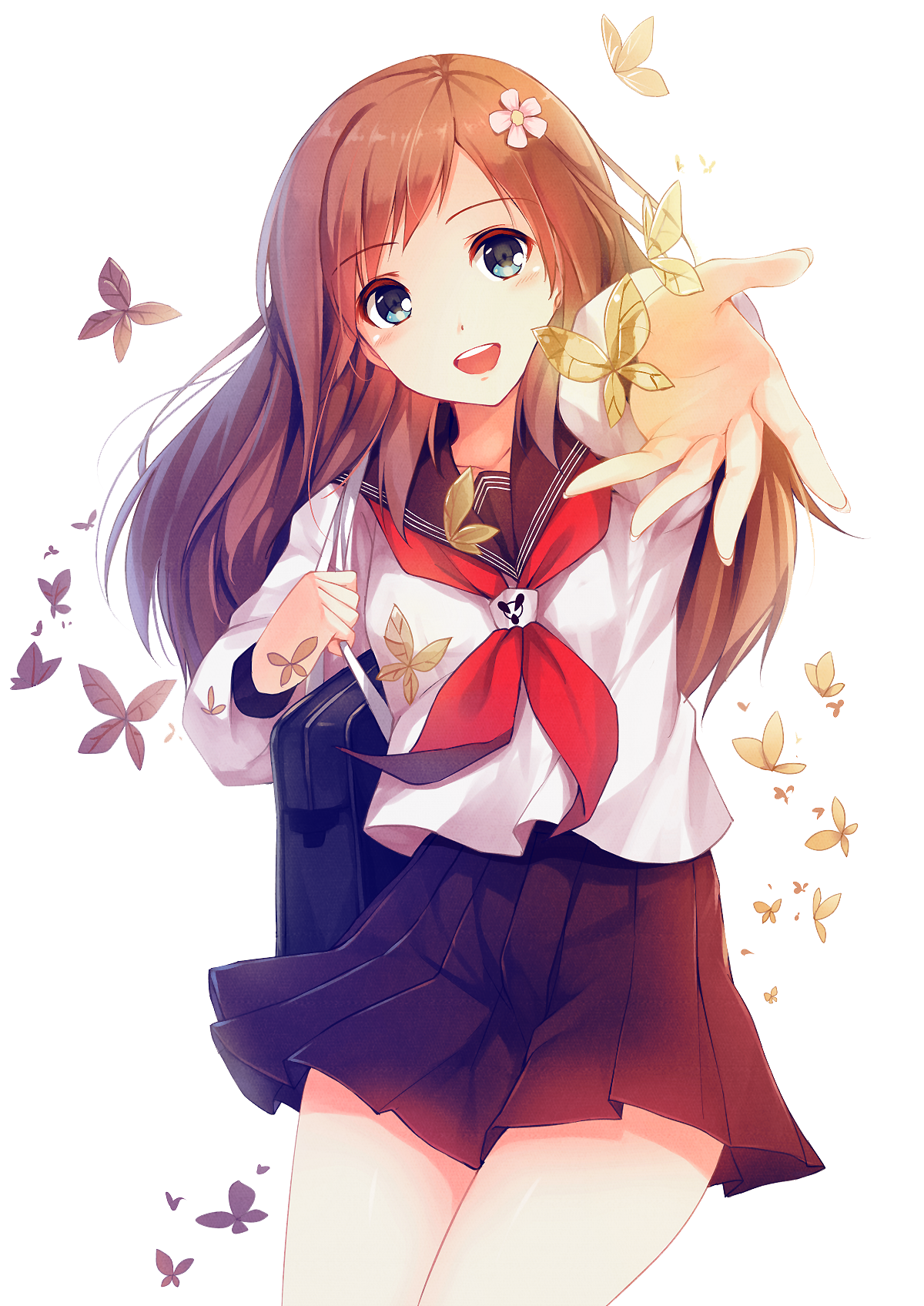 Anime picture 1200x1696 with original caidychen