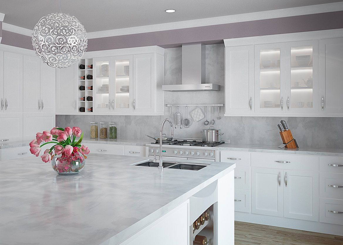 All Wood Shaker Kitchen Cabinets  Stribal  Design Interior Simple Contemporary Style Kitchen Cabinets Decorating Inspiration