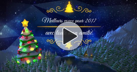 Cartes noel virtuelles animées