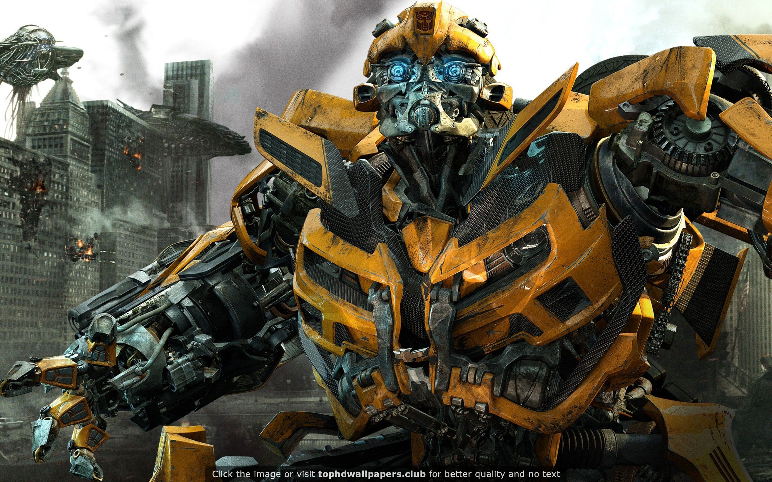 bumblebee in transformers 3 hd wallpaper for your pc mac or mobile