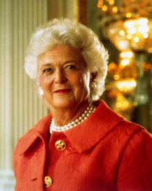 Barbara Bush... now she was/is truly a CLASS act!  Her daughter in law Laura Bush as well.