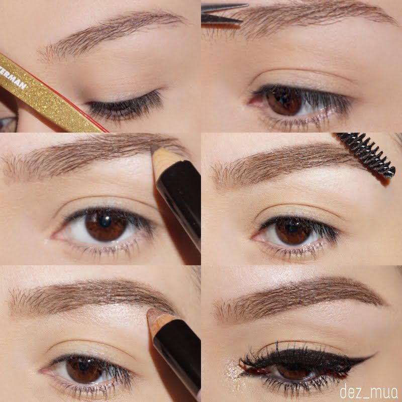 Deziree shapes her brows with both precision and ease using her gifted TWEEZERMAN All That Glitters Slant Tweezer that she received for being a Preen.Me VIP. Click through to own this sparkly #BackToBrows special edition in time for the holidays!