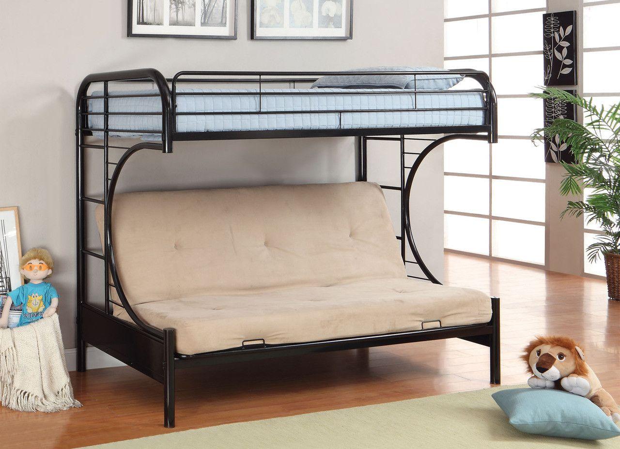 twin futon base rainbow collection cm bk1034 bk products