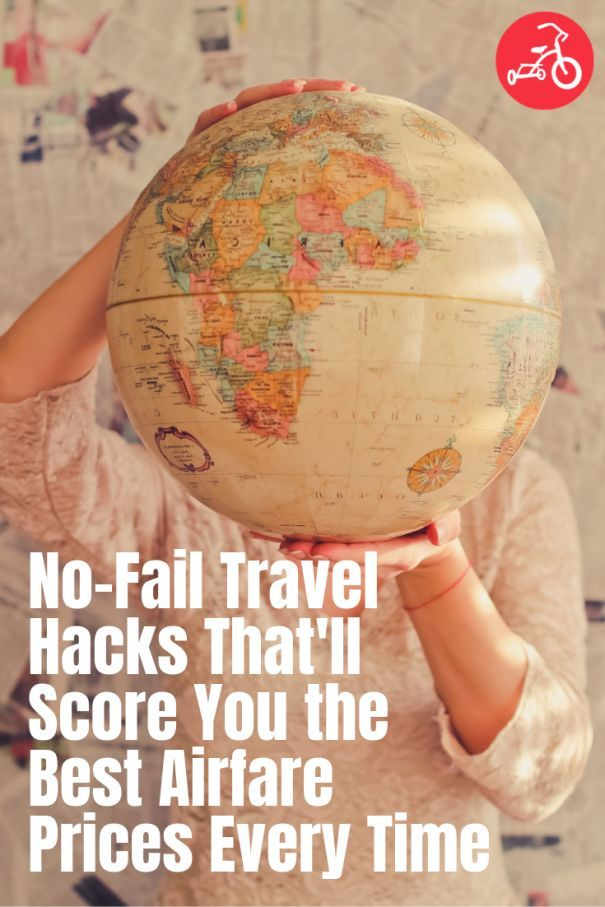 No-Fail Travel Hacks That'll Score You the Best Airfare Prices Every Time #travelhacks #travel