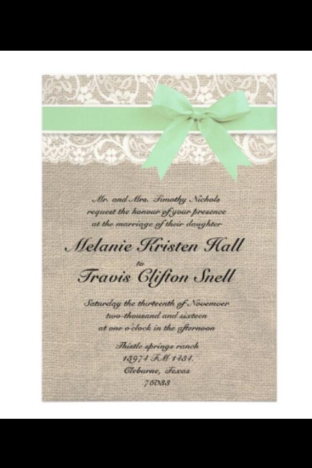 Invitations, made on zazzle ( Wedding plans Pinterest Invitations