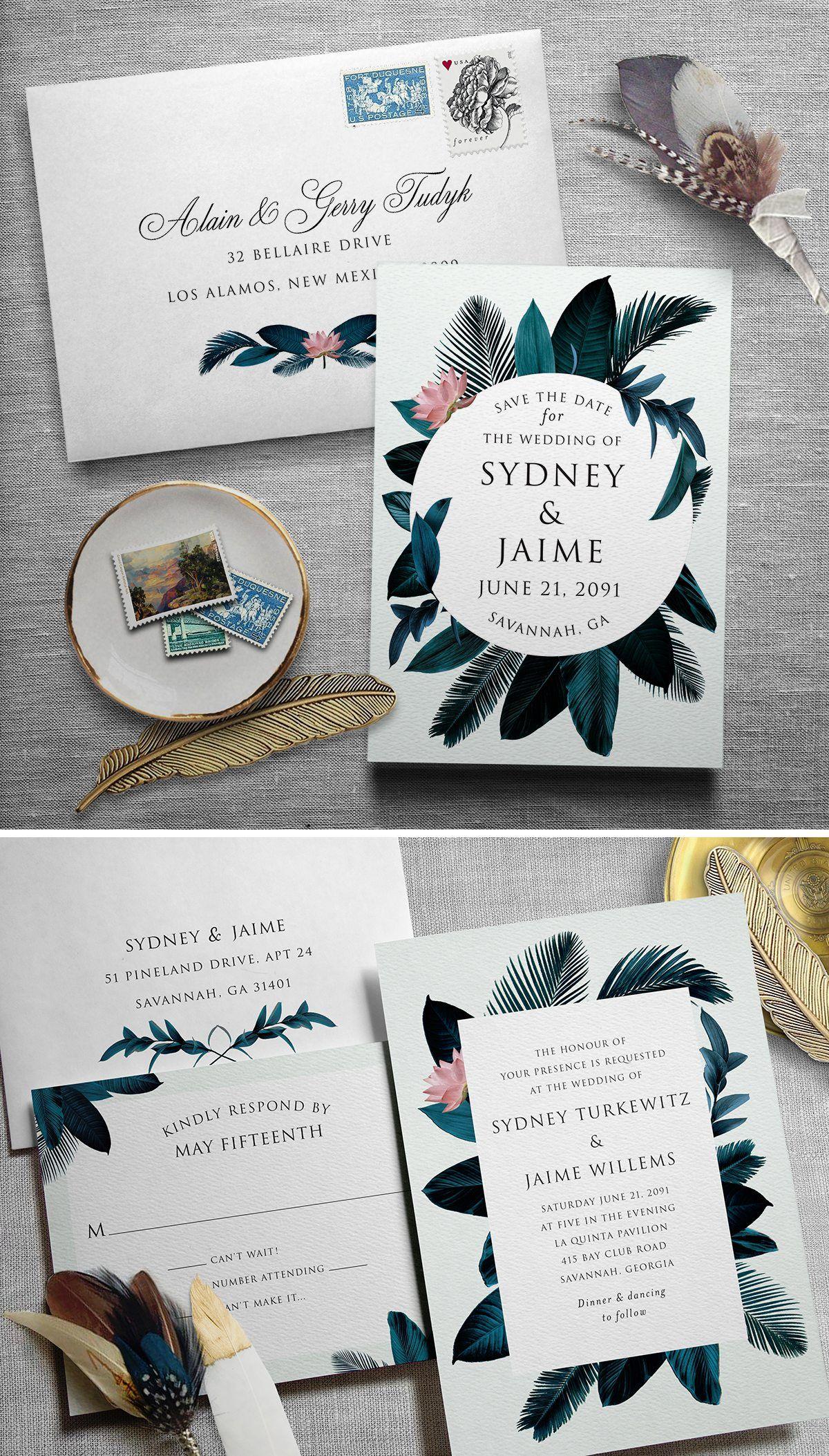 Printable Press Our Secret to Wedding Invitations