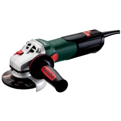Metabo 8 5 Amp Corded 4 1 2 In W 9 115 Quick Angle Grinder 600371420 The Home Depot Angle Grinder Angle Grinders Grinder