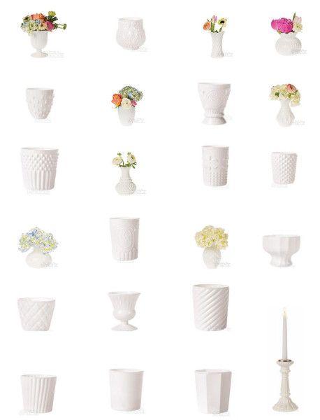 where to buy milk glass wedding vases and decor