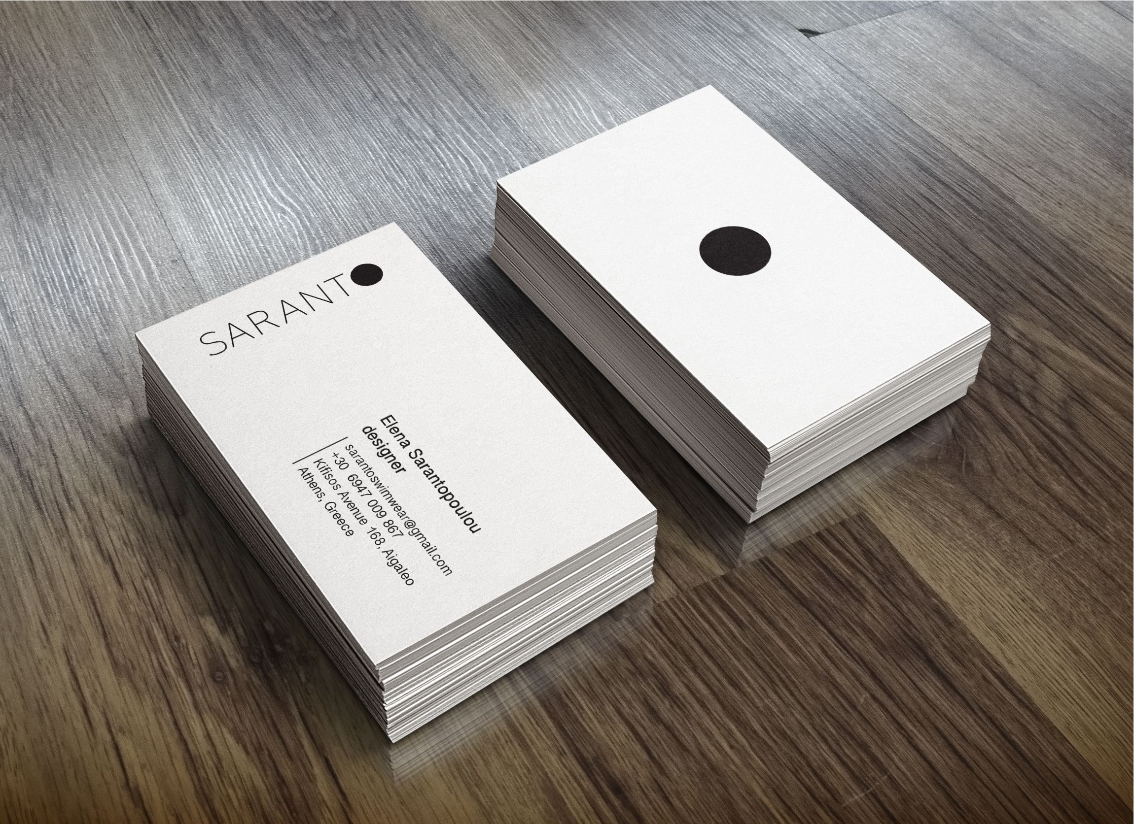Businesscards Business Designer Simple Stylish Minimal