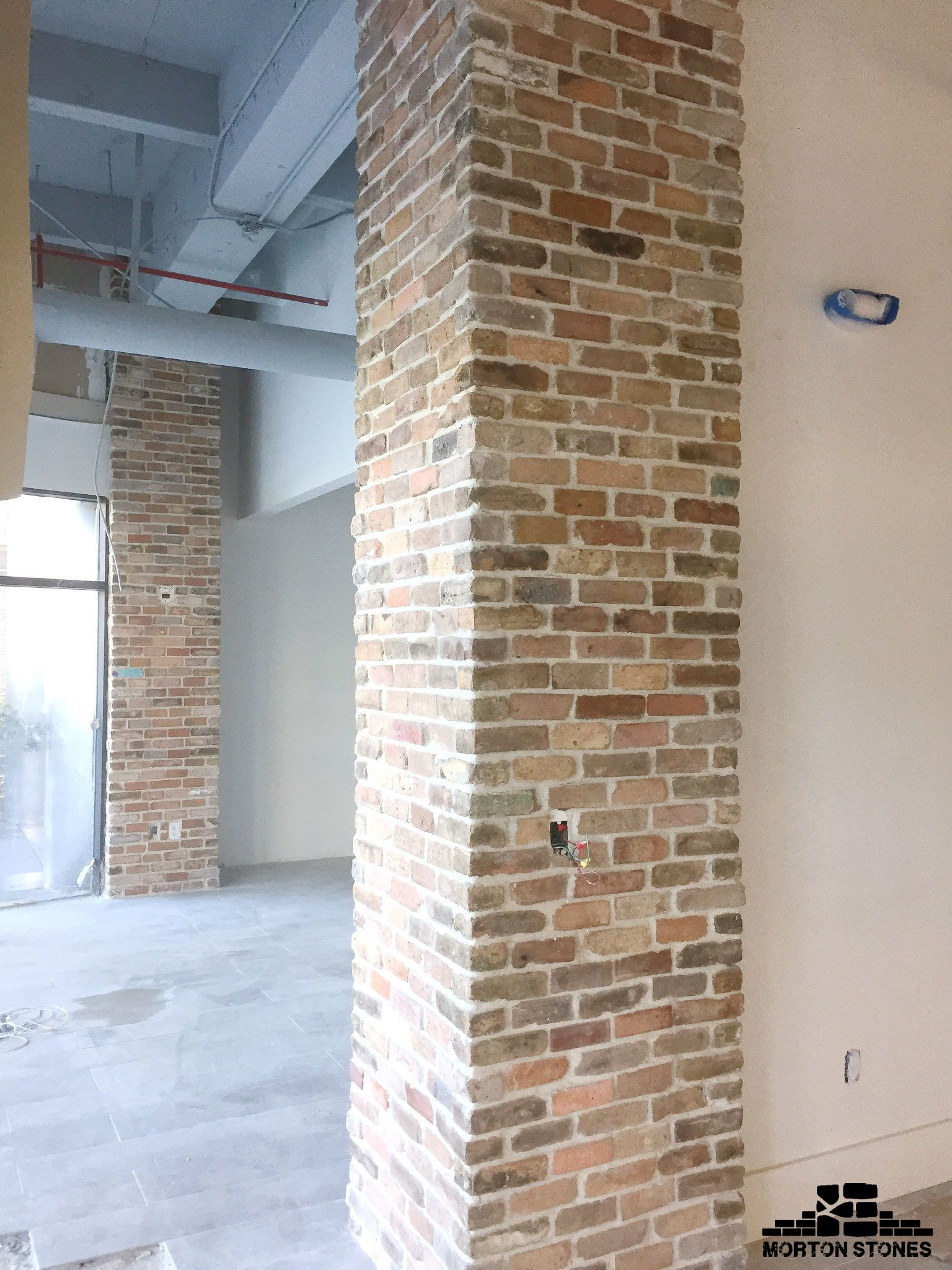 The Brick Veneer Columns Are A Clic