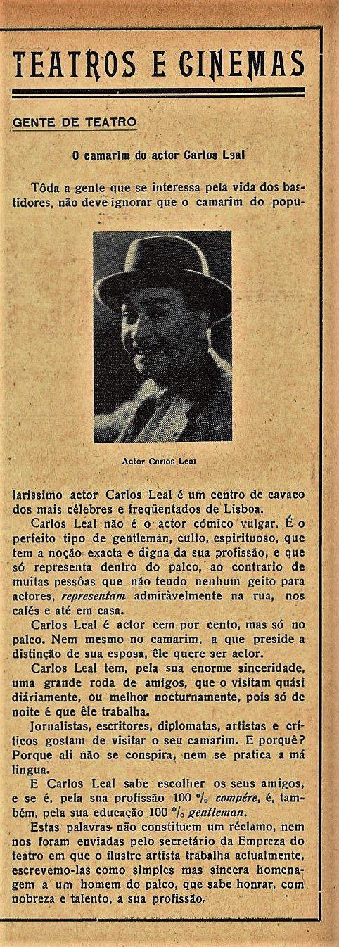 Carlos Leal - Gazeta dos Caminhos de Ferro - N1217
