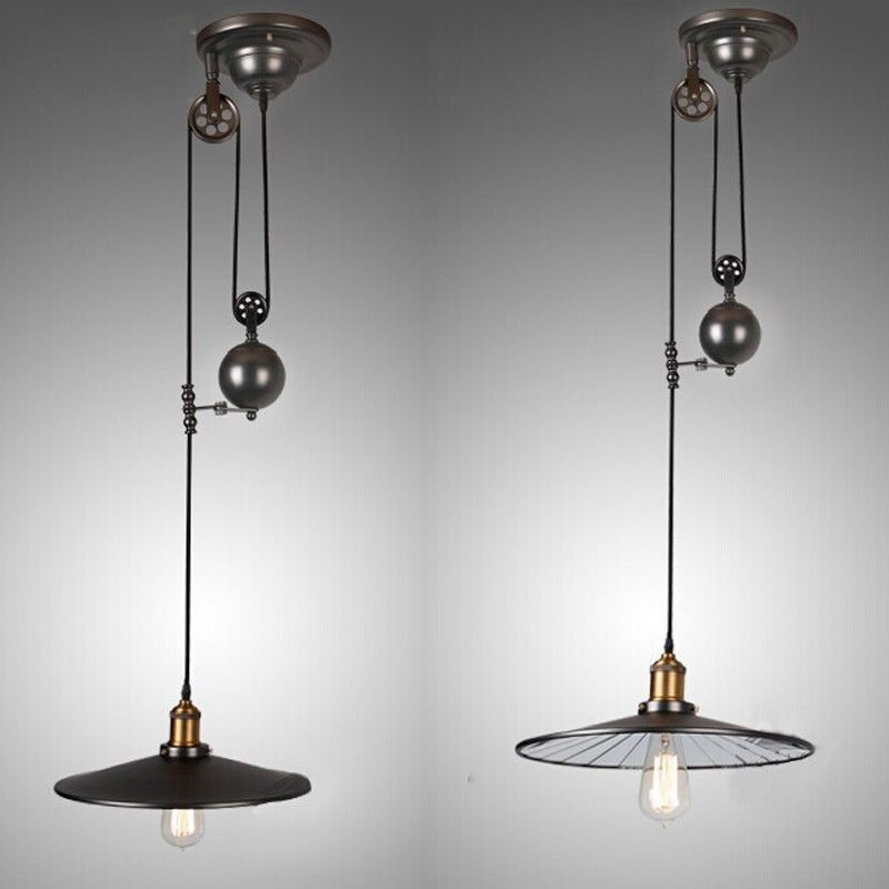 Fresh Chandelier Pulley System