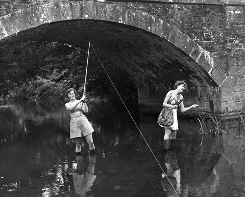 Two Women On Holiday From London Try Their Hand At Trout Fishing Tips Trout Fishing Fly Fishing