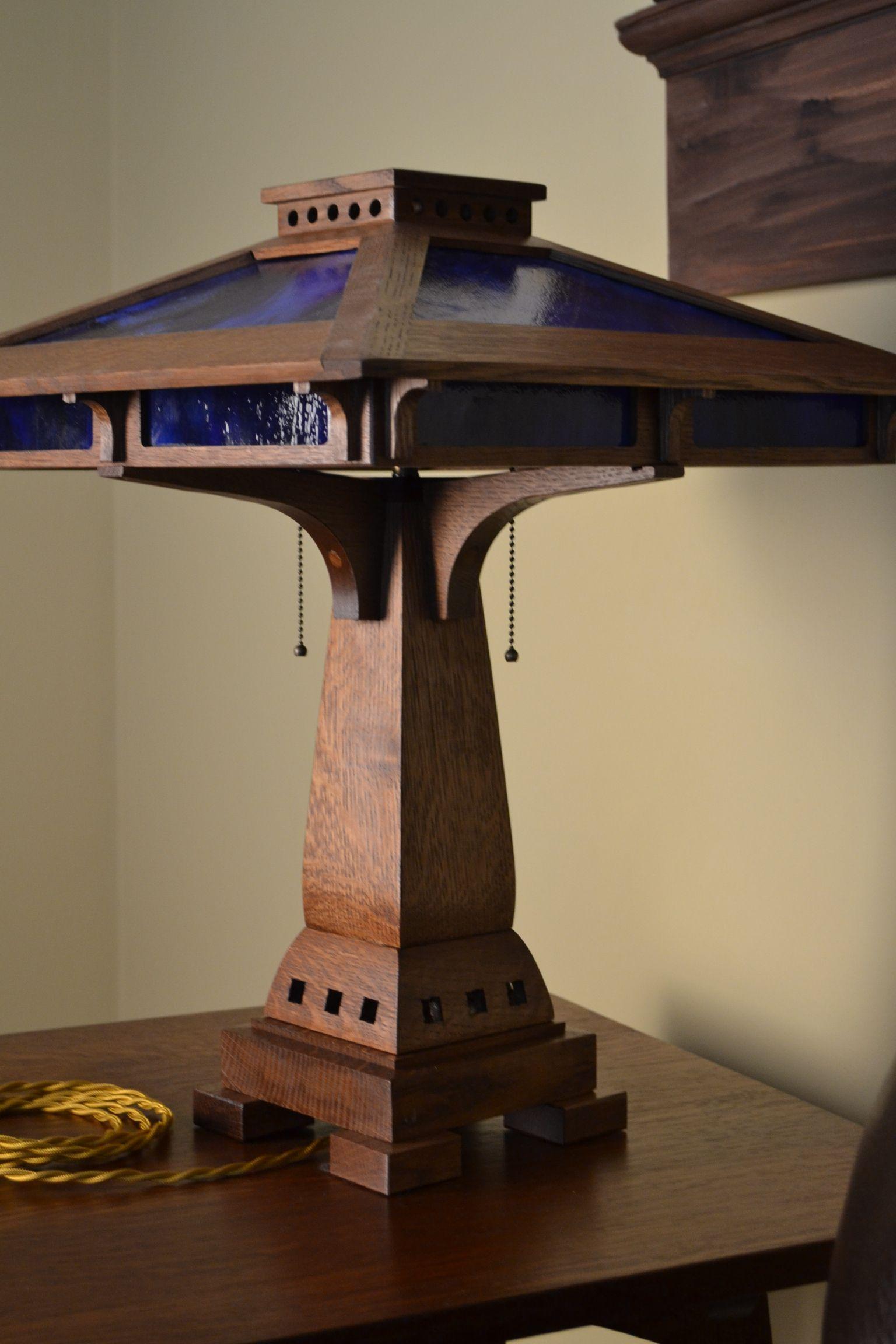 Prairie Craftsman Table Lamp Craftsman furniture
