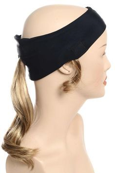 4c709155e0b64 Ponytail Headband for Hats - Baseball Cap with Hair by Cardani ...