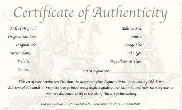 Jewelry Certificate Of Authenticity Template Beautiful How To Create A Certificate Authenticity For You Photography Templates Certificate Templates Certificate